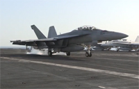 Navy Aircraft Continue to Strike ISIL Targets
