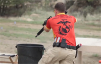 USMC Combat Shooting Team in Action
