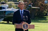 Obama Delivers Statement on Syria Air Strikes