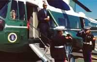 Obama Takes Flak for 'Coffee Salute'