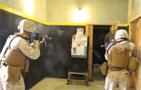 Marines Train in Active Shooter Scenario