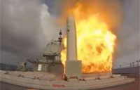 Tomahawk Missile Launch in Slow Motion