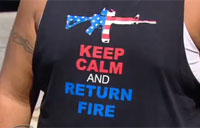 Six Flags Denies Vet Over 'Offensive' Shirt