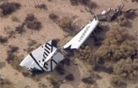 Virgin Galactic SpaceShipTwo Crashes