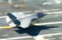 F-35C Sea Trials Aboard the USS Nimitz