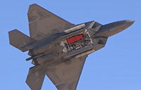 F-22 Demo at 2014 Nellis AFB Open House