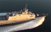 Latest in Littoral Combat: Aboard the USS Fort Worth