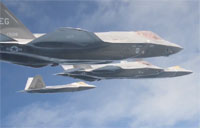 F-22 & F-35A Integration Training Kicks Off