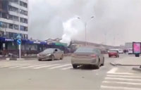 Driving Through Grozny After Battle