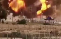 ISIS Truck Bomb Attack on Baiji Oil Refinery