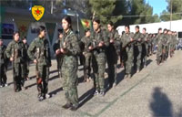 YPG Female Soldier Graduation Course