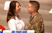 Soldier Surprises Wife at Graduation Ceremony