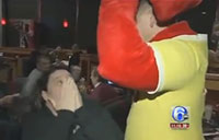 Soldier Dressed as 'Red Robin' Surprises Mom