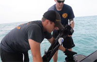 Navy Uses Newest Tech in AirAsia Search