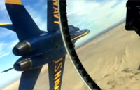 Inside the Blue Angels Diamond Formation!