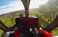 Pilot Loses Control During Helo Flight Test