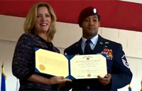 Ivan Ruiz Presented Air Force Cross