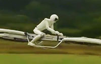 Hoverbike a Leap Forward in Drone Tech