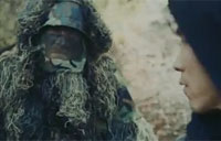 The Ghillie Suit Man
