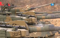 K-2 Black Panther Tanks First Formal Live Firing