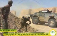 Iraqi Paramilitary in Heavy Battle in Samarra