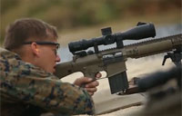 Marine SRT Sniper Training