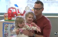 Soldier Surprises Daughter During 5th Deployment