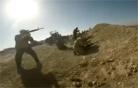 Iraqi Assault on Islamic State Positions