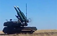 Buk Missile System Fired in Russia