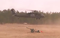 M119A3 Howitzer Sling Load Operations
