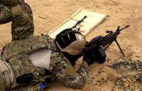 Special Tactics Heavy Weapons Training