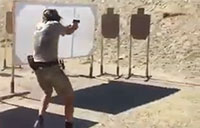 Close Call at the Gun Range