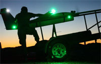 2D LAAD Static Stinger Missile Night Shoot