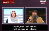 Female TV Host Shuts Down Islamist