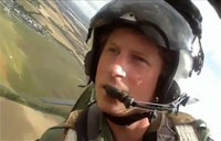 Prince Harry's Spitfire Flight over Isle of Wight