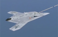X-47B First to Complete Autonomous Aerial Refueling