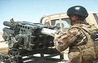 Iraqi Army Engages Daash Positions