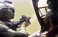 Brazilian Special Ops Helo Intercepts Drug Boat