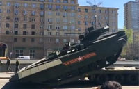 Russian Armata Tank Fails to Load