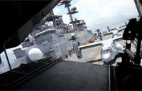 MV-22 Takes Off from USS Essex