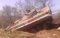 BMP Gets Stuck in the Mud