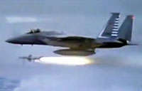 F-15 Shoots Down Enemy Plane for First Time