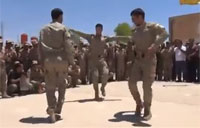 Chechen Soldiers Bust A Move!