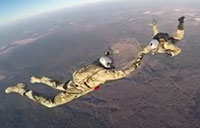 Air Force Para Rescue HALO Jump