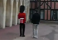 Never Ever Touch The Queen's Guard
