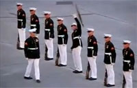Silent Drill Team Fail