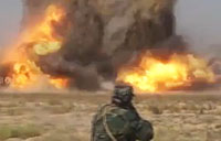 Iraqi and Badr Forces Destroy ISIS VBIED