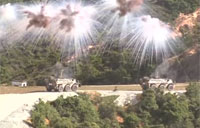 Chinese Army Fast Attack Exercise 2015