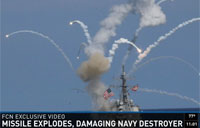Navy Destroyer Damaged by SM-2 Missile