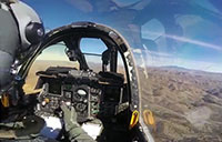 A-10 Thunderbolt II Interior Cockpit View